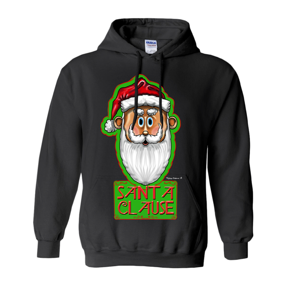 Santa Clause by Topher Adam 2018 Hoodies (No-Zip/Pullover)