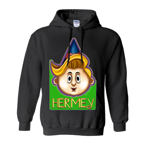Hermey illustration by Topher Adam 2018 Hoodies (No-Zip/Pullover)