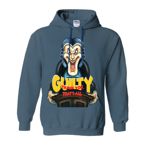 Guilty, thank you, that's all, by Topher Adam 2018 Hoodies (No-Zip/Pullover)