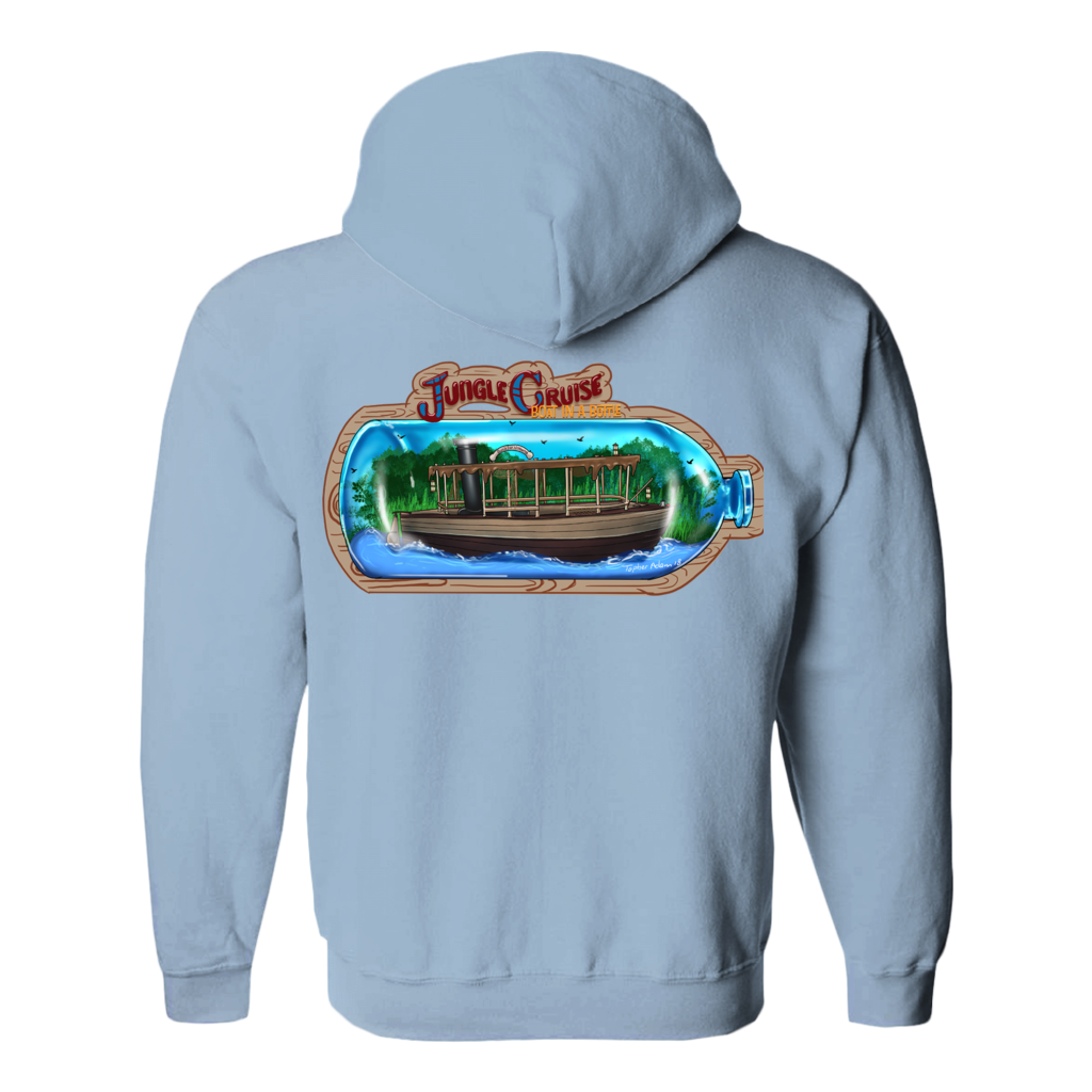 Boat in a Bottle by Topher Adam 2018 Hoodies (No-Zip/Pullover)