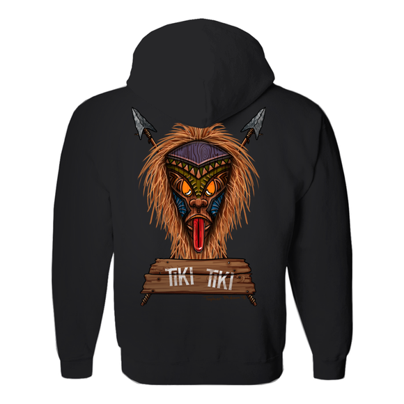 I Tiki Tiki, by Topher Adam 2018 Hoodies (No-Zip/Pullover)