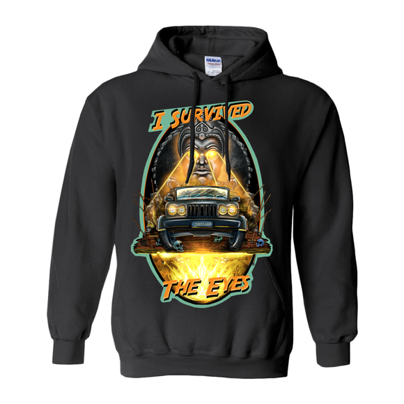 I Survived the Eyes by Topher Adam 2019 Hoodies (No-Zip/Pullover)