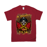 A  pirates life for me 50th anniversary T-shirt by Topher Adam 2019