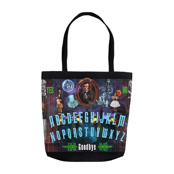 50th Haunted Mansion Ouija by Topher Adam Tote Bags