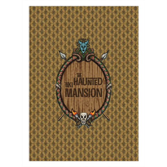 Haunted Tiki Mansion Rugs