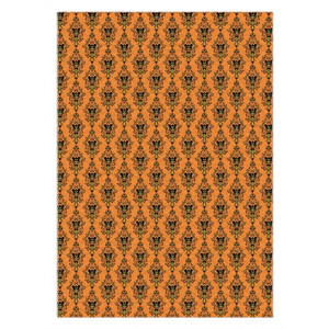 Halloween Wallpaper Pattern Rugs
