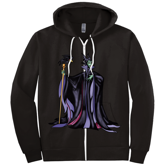 Darkness never looked so beastie Hoodies (Zip-up)