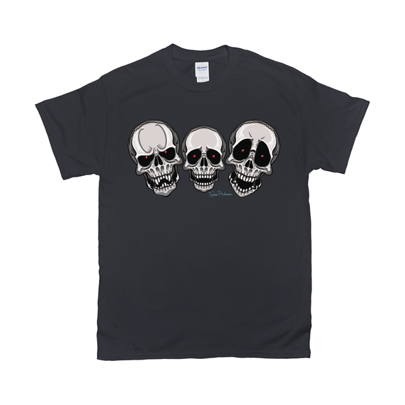 Three Skulls T-Shirts