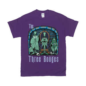 Three Booges T-Shirts by Topher Adam