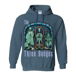 Three Booges Hoodies (No-Zip/Pullover) by Topher Adam