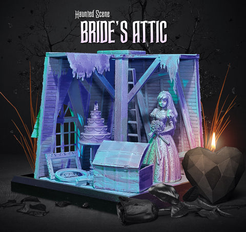 "Haunted Scenes - ""Bride's Attic"" Collectible"
