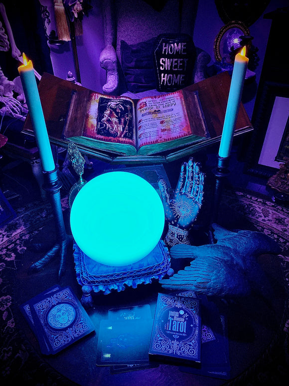Pre-Order Madame Leota Orb on Pillow base by Topher Adam