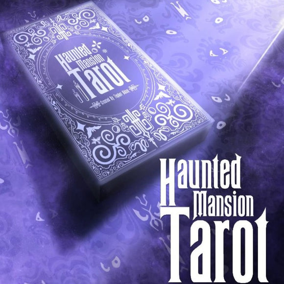 "Pre-order Haunted Mansion ""Leota's Tarot Cards"" a Major Arcana deck by Topher Adam"