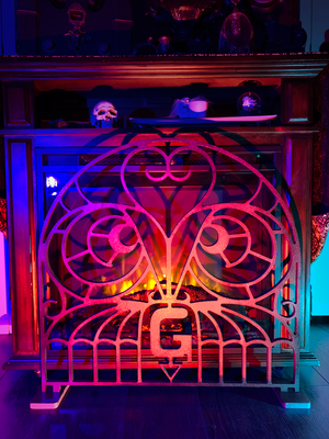 Haunted Mansion Fireplace Grate