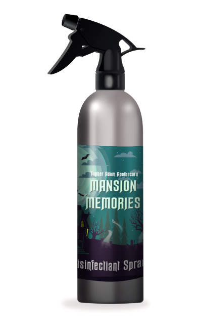 Mansion Memories 9oz Disinfectant Spray