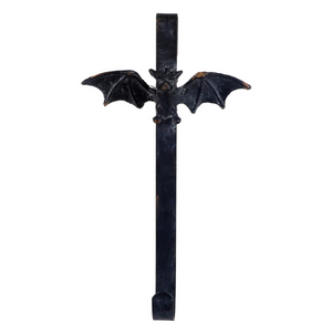 Iron Bat Wreath Hanger