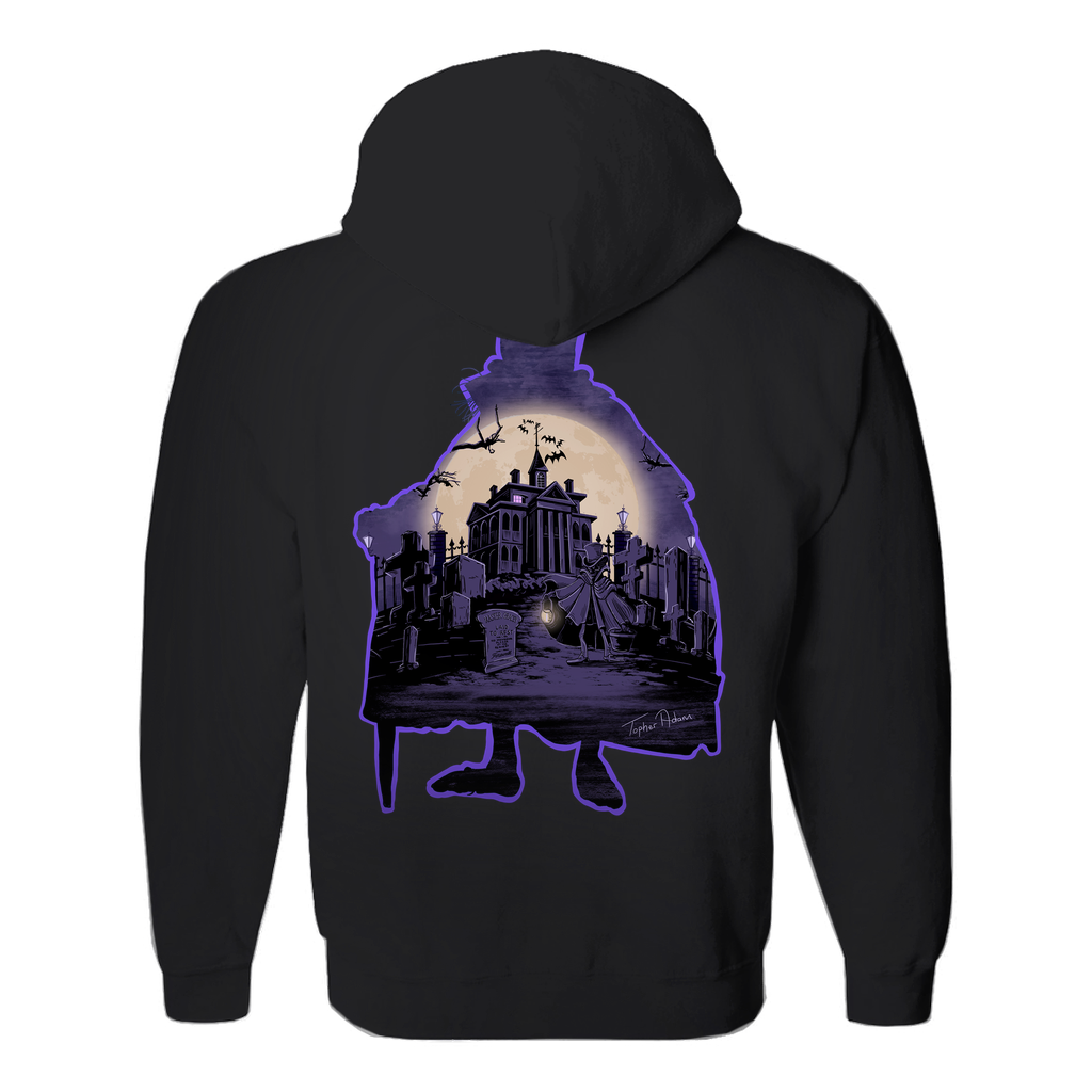 Mansion night by a Topher Adam Hoodies (No-Zip/Pullover)