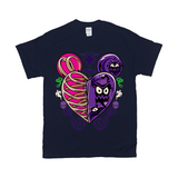 Haunted Heart T-Shirt by Topher Adam