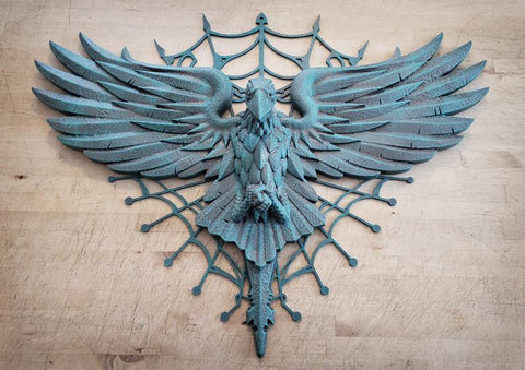 Rare and limited WDW Haunted Mansion Inspired Mausoleum Raven Wall Art