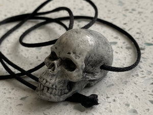 Skull Necklace - a reflection of Randotti by Topher Adam