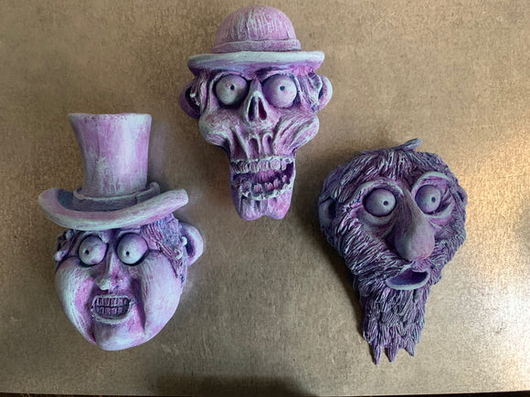Hitchhiking Ghost Magnets set of 3