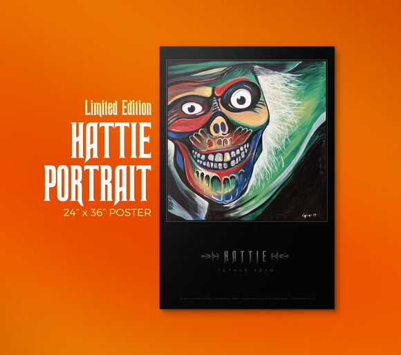 Hattie Portrait Limited Poster