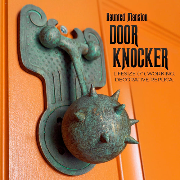 Haunted Mansion working Door Knocker