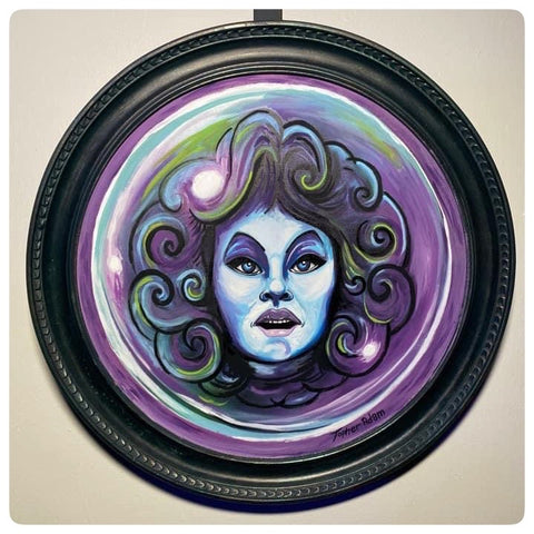 Madame Leota Giclee by Topher Adam