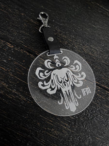 Round Ghoulish Keychain by IFM