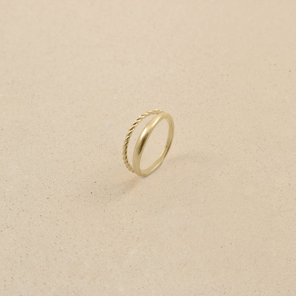 Starling Ring - 14k Massivgold
