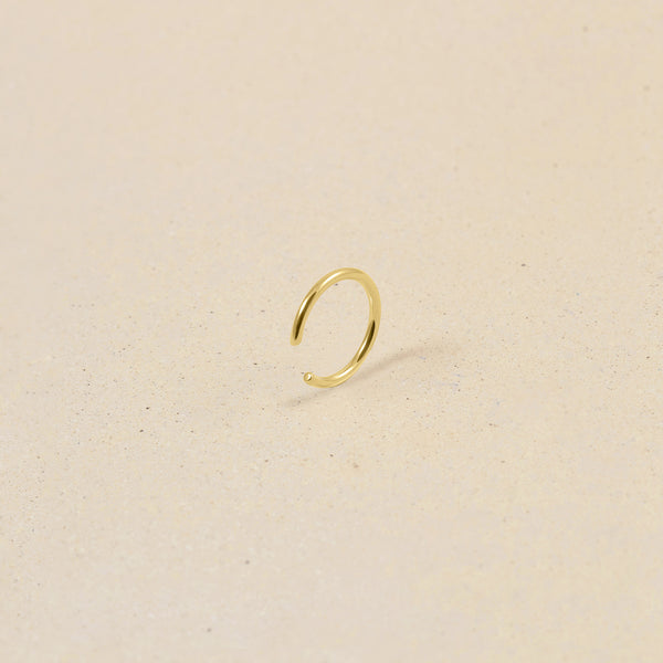 Simple Ear Cuff 14ct Solid Gold