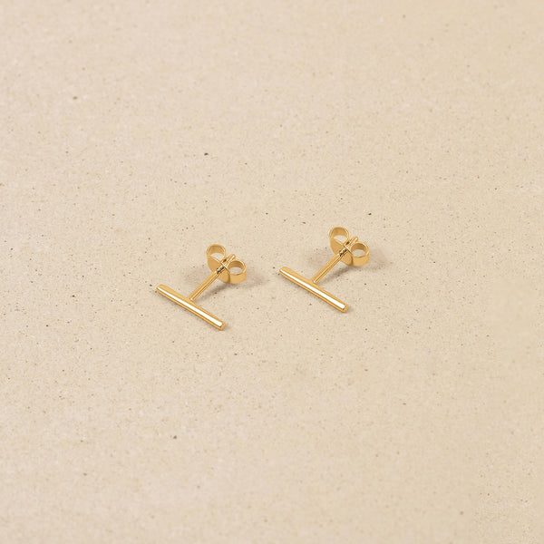 Twist Bar Earrings