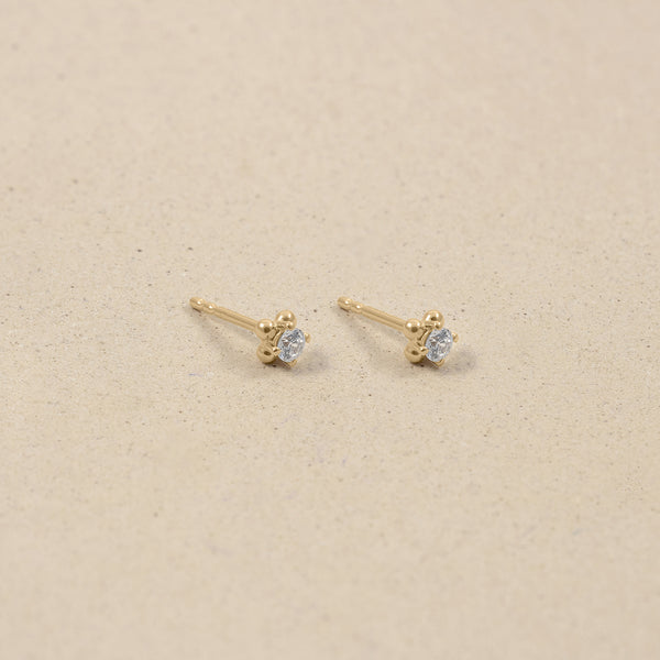 Diamond Lux Stud Earrings