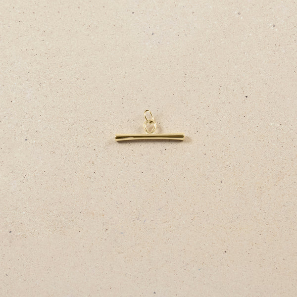 Bonds Path Bar Pendant - 14ct Solid Gold