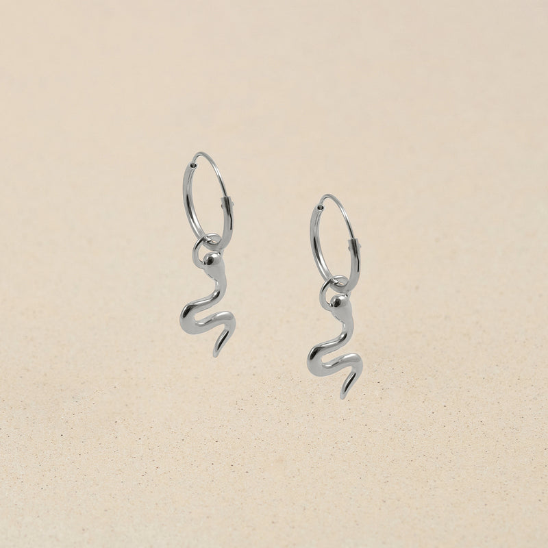 The Medusa Charm Ear Hoop