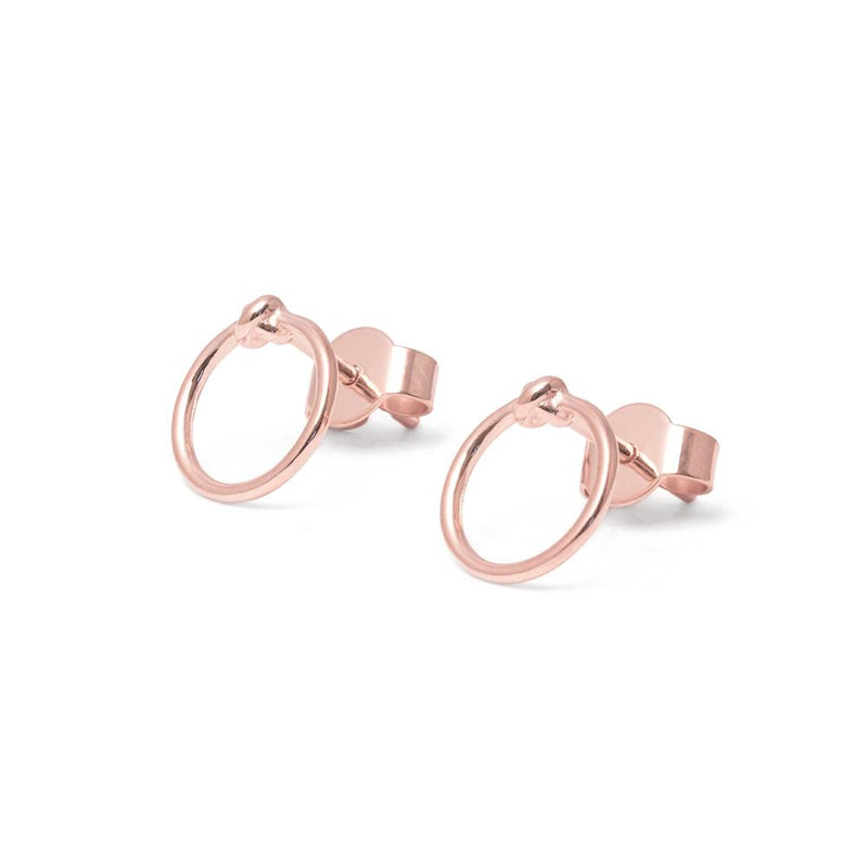 annalauraloves Ohrringe Jewelry anna-laura-kummer 925 Silver Rose Gold Plated