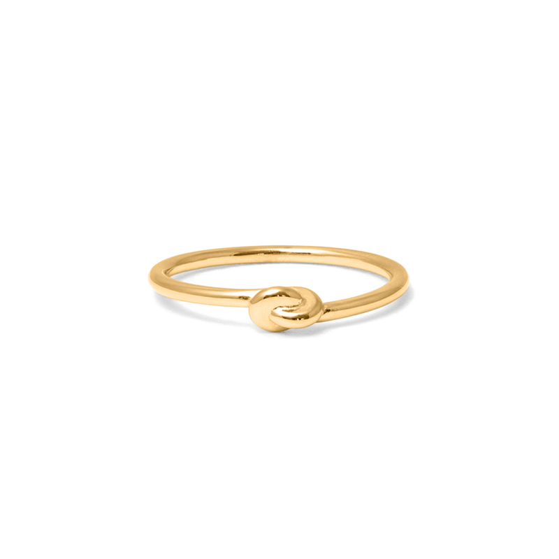 annalauraloves Ring Jewelry anna-laura-kummer 925 Silver Gold Plated S - 52 (16.6mm)