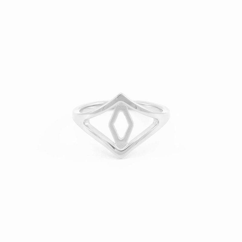 Aperture Eye Ring Jewelry sharon-and-karima 925 Silver XS - 49 (15.6mm)