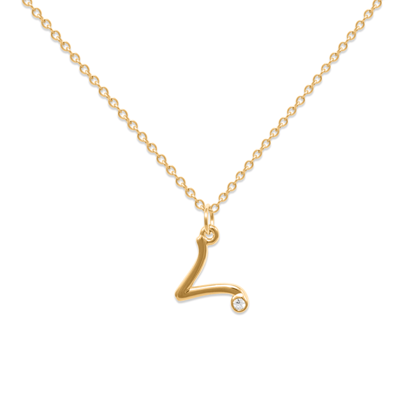 Aries Kette Jewelry luisa-lion 24ct Gold Vermeil Necklace size: S (45cm)