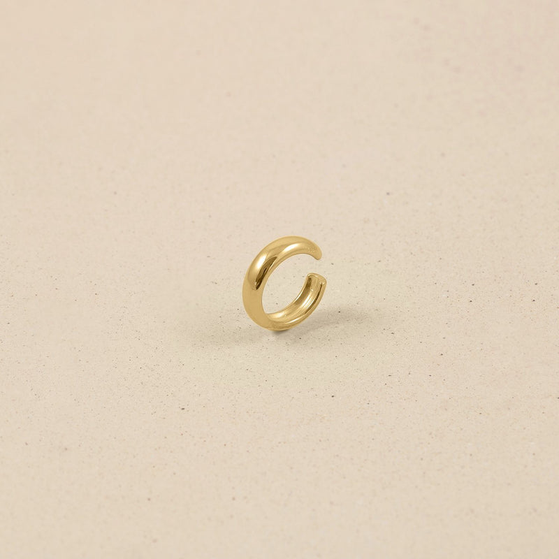 Band Ear Cuff 14k Massivgold Jewelry stilnest 14k Massivgold