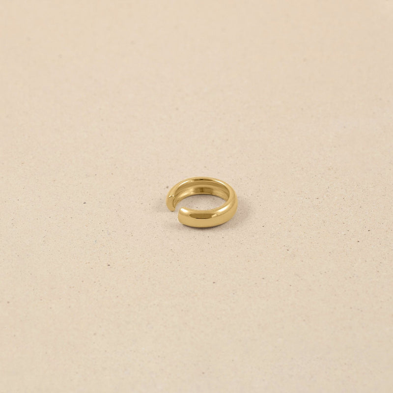 Band Ear Cuff 14k Massivgold Jewelry stilnest