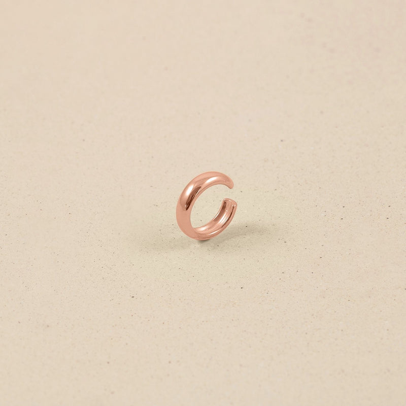 Band Ear Cuff Jewelry stilnest Rose Gold Vermeil
