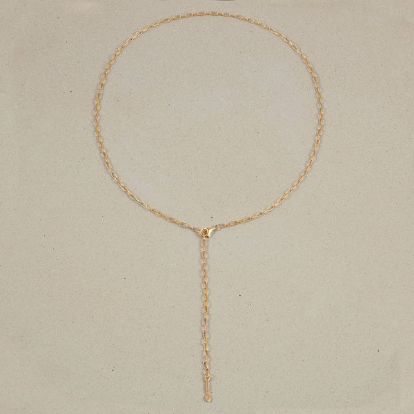 Barring Chain Necklace Petite Brush Charm Jewelry Stilnest 24ct Gold Vermeil Anchor Chain/Ankerkette 50 cm