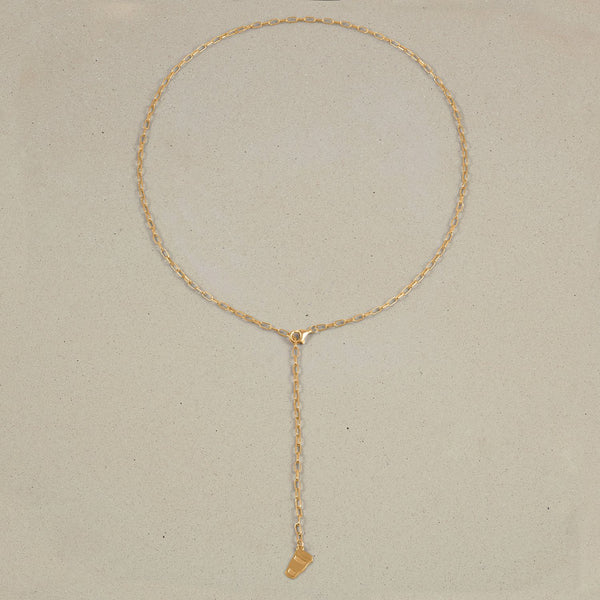 Barring Chain Necklace Petite Coffee Charm Jewelry Stilnest 24ct Gold Vermeil Anchor Chain/Ankerkette 50 cm