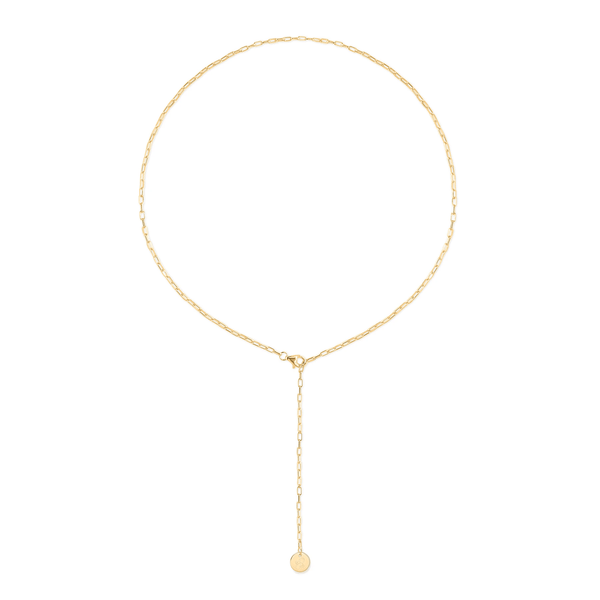Barring Chain Petite Pacifier Kette Jewelry frau-hoelle 24ct Gold Vermeil 50 cm