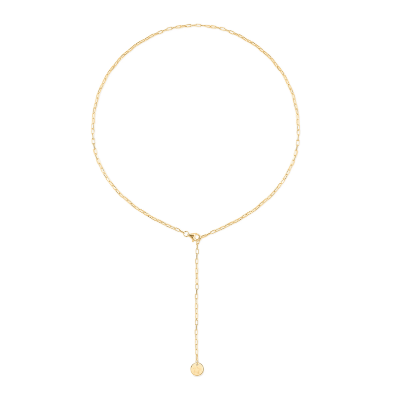 Barring Chain Petite Star Kette Jewelry frau-hoelle 24ct Gold Vermeil 50 cm