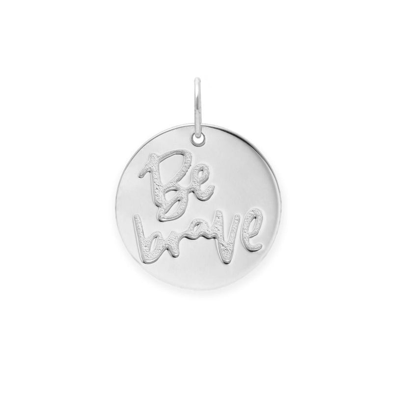 Be Brave Anhänger #femboss Jewelry frau-hoelle 925 Silver