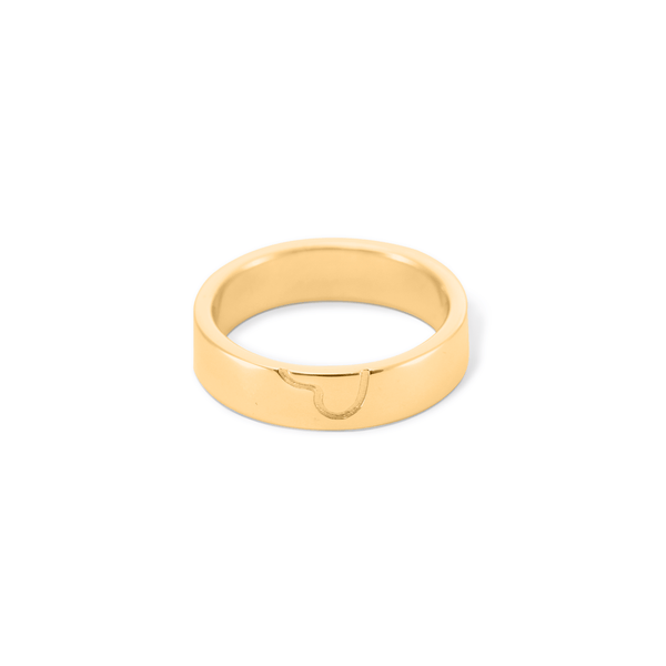 Bei-de Her Ring Jewelry adanna-and-david 925 Silver Gold Plated S - 52 (16.6mm)