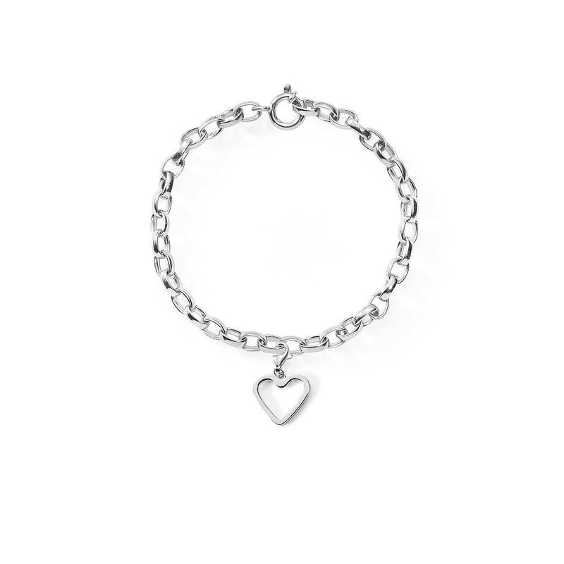 Bei-de Love Armband Jewelry adanna-and-david 925 Silver S - 15cm chain length