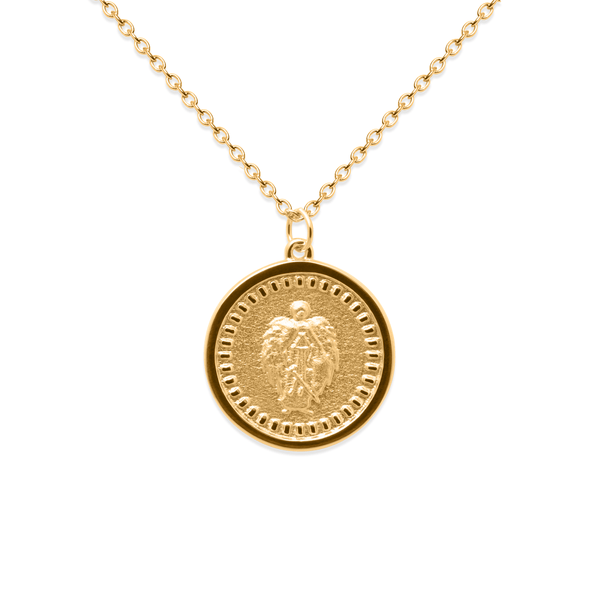 Belief Coin Kette Jewelry phiaka 925 Silver Gold Plated S (45cm)